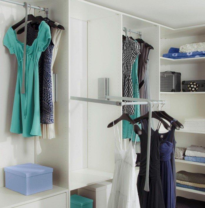Walkin closet, kledingkast.
